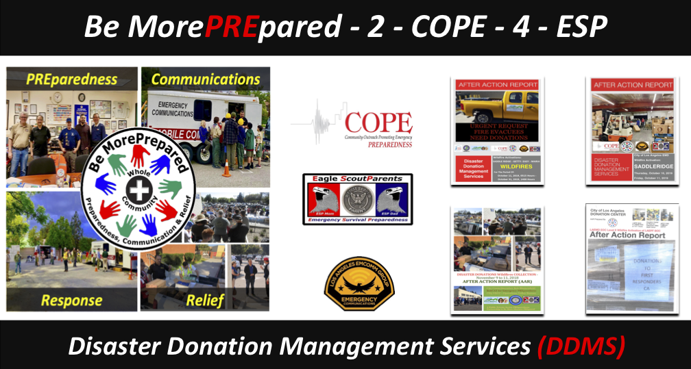 Disaster Donation Management Services (DDMS)